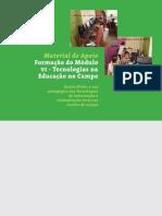 Material de Apoio Formacao Modulo VI ESCOLA ATIVA/MEC