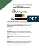 Fallo Jurado Relatos Cortos 2010-1