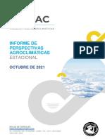 Informe climático mensual octubre 2021.