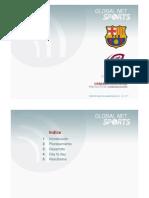 Como se hizo usapabarcelona.cat (FC Barcelona) - Global Net Sports
