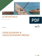 Karnataka 24-Apr Economy Report