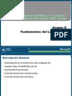 Modulo II - Introducción al lenguaje CSharp (Copia conflictiva de Gaston Arias 2011-04-17)