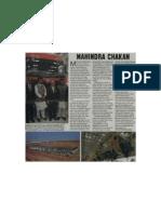 Mahindra at Chakan