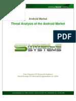 Android Market Threat Analysis 6-22-10 v1