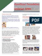 Benares School Newsletter 2009