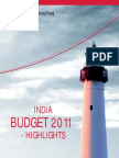 India Budget 2011-Highlights