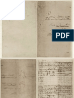 Original Manuscript of  Matthaeus Passion