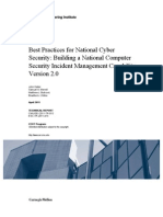 Best Practices for National Cyber Security