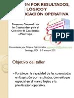 Presentacion Taller GPR, Plan Nagua (1)