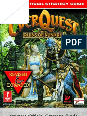 48825912 EverQuest the Ruins of Kunark Revised Expanded Prima