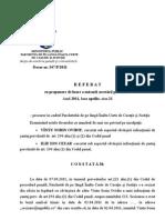 Referat Propunere Arestare Preventiva SOV