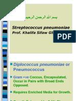 Lecture-4 Streptococcus pneumoniae