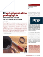 El Autodiagnostico Pedagogico