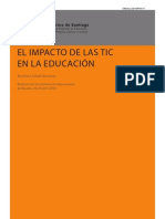 El Imapacto de Las Tics en La Educacion
