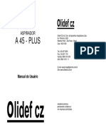 Aspirador Cirúrgico A45 Plus - Olidef
