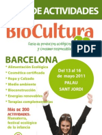 Guia Actividades Biocultura 2011 Bcn Web