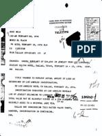 FBI Headquarters File 87-130210 -- Wladziu Valentino Liberace