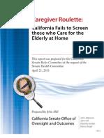 2385.Caregiver Roulette