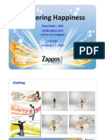 Zappos CEO Tedindia Talk 5-11-09