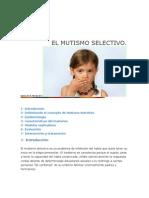 EL MUTISMO SELECTIVO