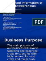 Business Purpose Entre