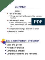 3 B2B Segmentation