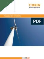 TIMKEN Wind Energy Brochure