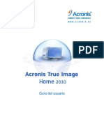 True Image 2010 UserGuide.es