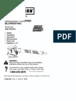 Craftsman Blower 368-794750