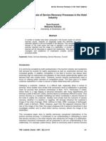 05 - Service Recovery in Hotel Industry - Kuenzel & Katsaris -