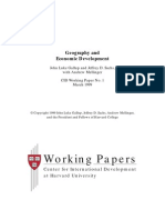 geography and economic development