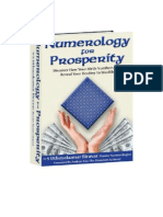 Numerology for Prosperity