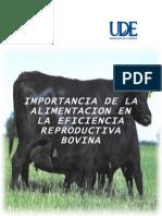 Alimentacion y Eficiencia Reproductiva