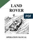 Series I Manual