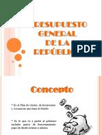 2 Presupuesto General de La Republica