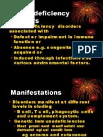 Immunodeficiency Disorders