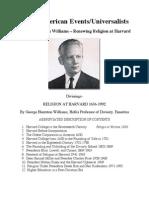 George Huntston Williams