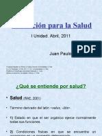 Educ. Salud. Clase 1