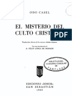 El Misterio (Odo Casel)