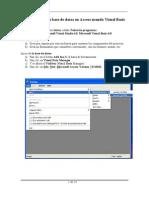 Cómo crear una base de datos en Access usando Visual Basic
