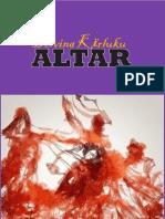 Delvina Kërluku, ALTAR (poezi)
