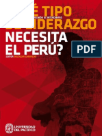 Qué tipo de liderazgo es urgente para nuestro Perú