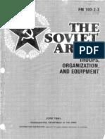 Soviet Army Troops 1991