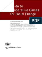 Guide to Cooperative Games for Social Change