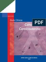 guia clinica CaCU 2010