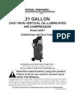 21 HP Air Compressor