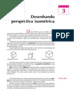 Telecurso 2000 - Desenho Técnico - 03 - Desenhando perspectiva isométrica