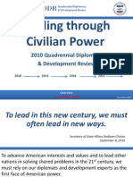This Should Scare the Crap Out of YOU! Leading Through Civilian Power Nov2010