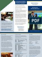 QU Journalism brochure