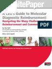 Reimbursement for Molecular Tests